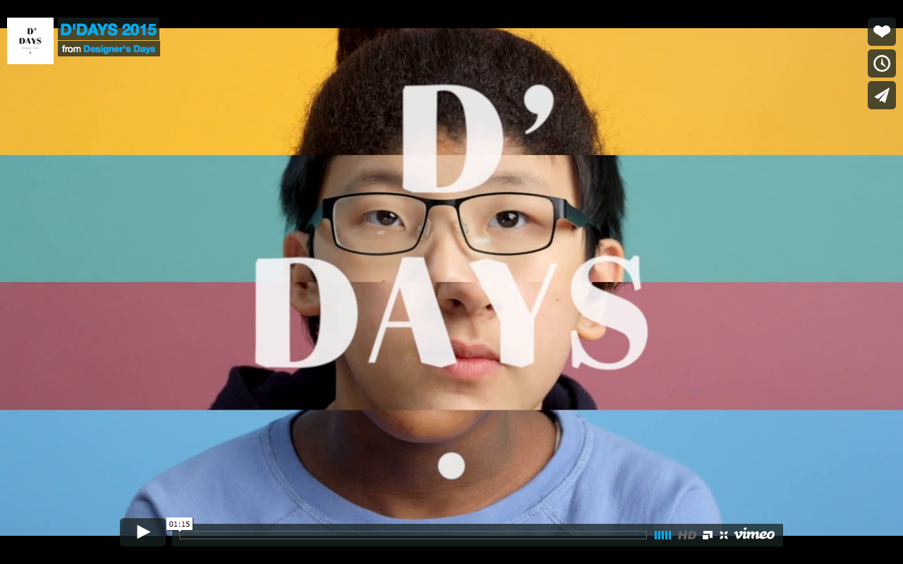 D'Days 2015 Vidéo